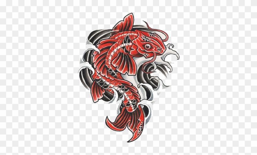 Fish Tattoos Free Png Image Tattoo Designs Koi Fish Free