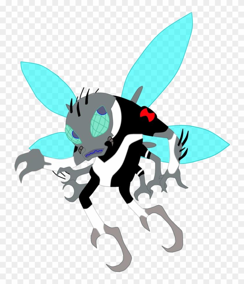 Albedo Fly Guy By Thewalrusclown - New Ben 10 Reboot Aliens #824194