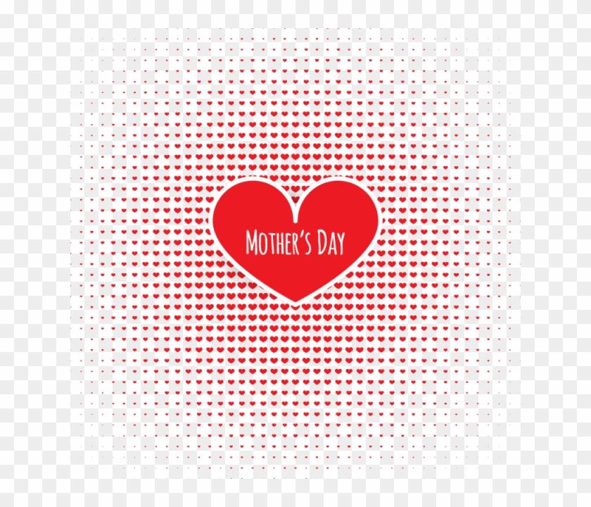 Adoro Corações Vermelho Vetor Livre Png E Vetor Halftone Dots
