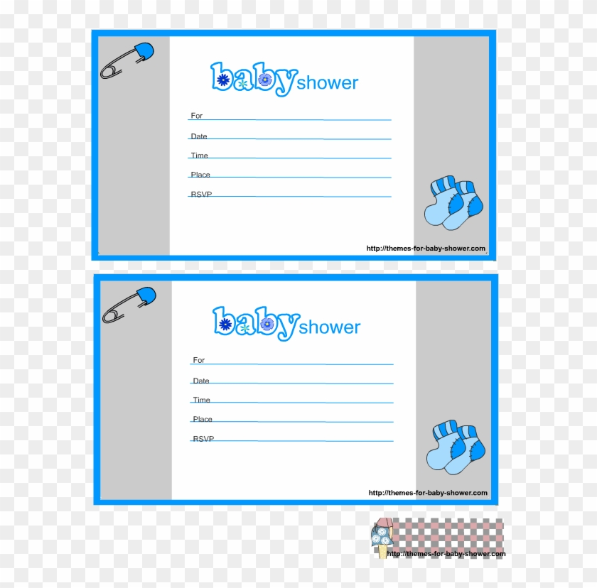 photograph relating to Printable Baby Shower Invitations Boy known as Little one Boy Shower Invites Printable - Youngster Shower - Absolutely free
