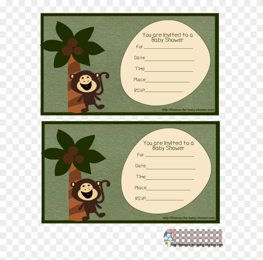 Free Printable Monkey Baby Shower Invitations Including - Monkey Baby Shower Invitations Templates Free #824726