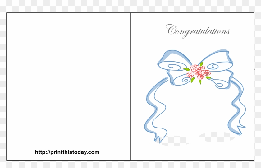 Free Printable Wedding Congratulations Cards - Printable Wedding Greeting Cards #824739