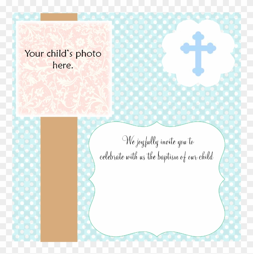 blank invitation templates free baptismal invitation christening