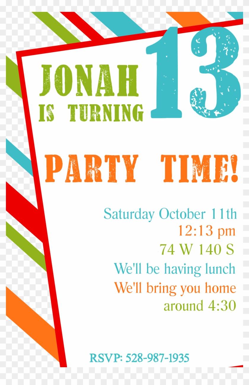 Birthday Invitation Templates - Boys Birthday Party Invitiaions Free ...