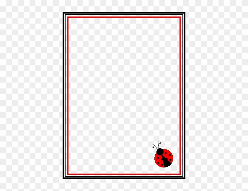 Blank Lady Bug Invitation