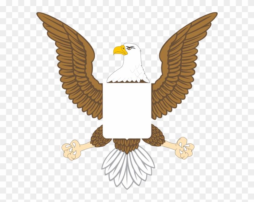 American Eagle Clip Art At Clker Com Vector Clip Art - American Eagle Clipart #824890