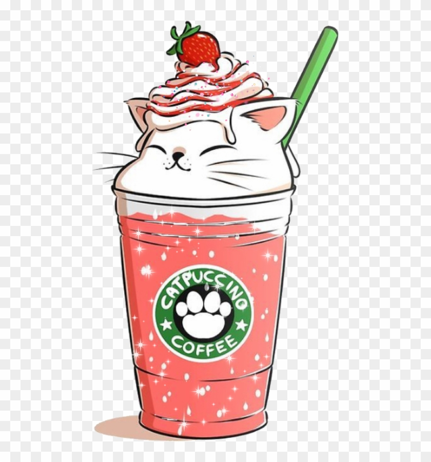 Kawaii Cute Starbucks Drawings Free Transparent Png