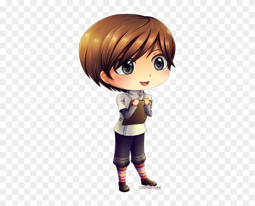 Chibi Hiro By Cnhiansae - Chibi Boy Brown Hair #825456