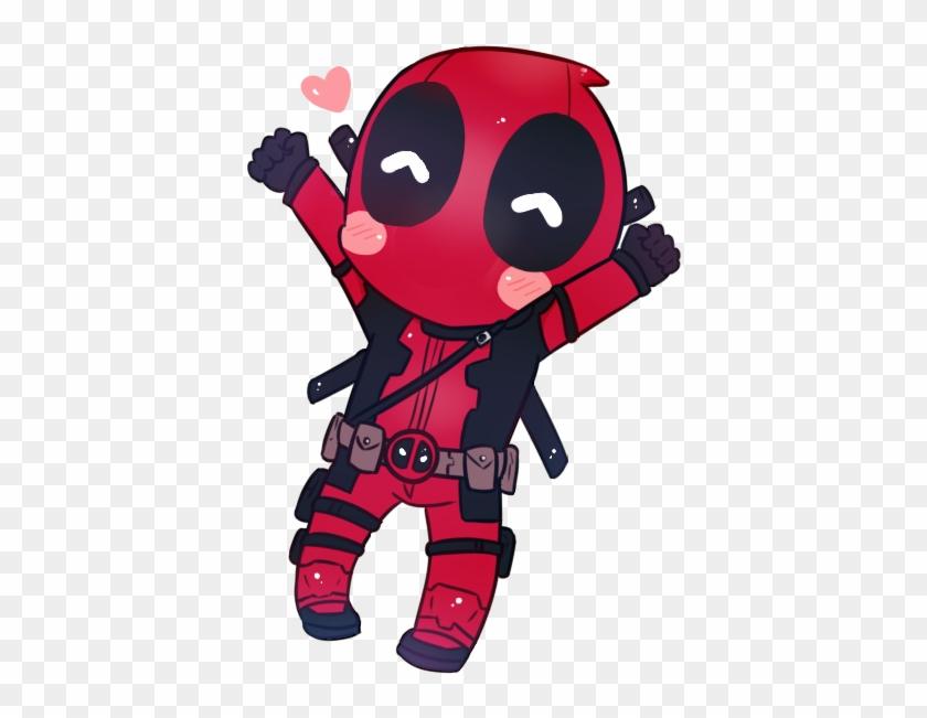 Chibi Deadpool By Nacchan96 On Deviantart - Free Cross Stitch