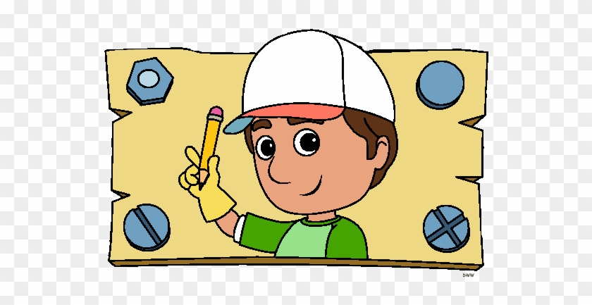 More Television Clip Art - Handy Manny Coloring Pages #825699