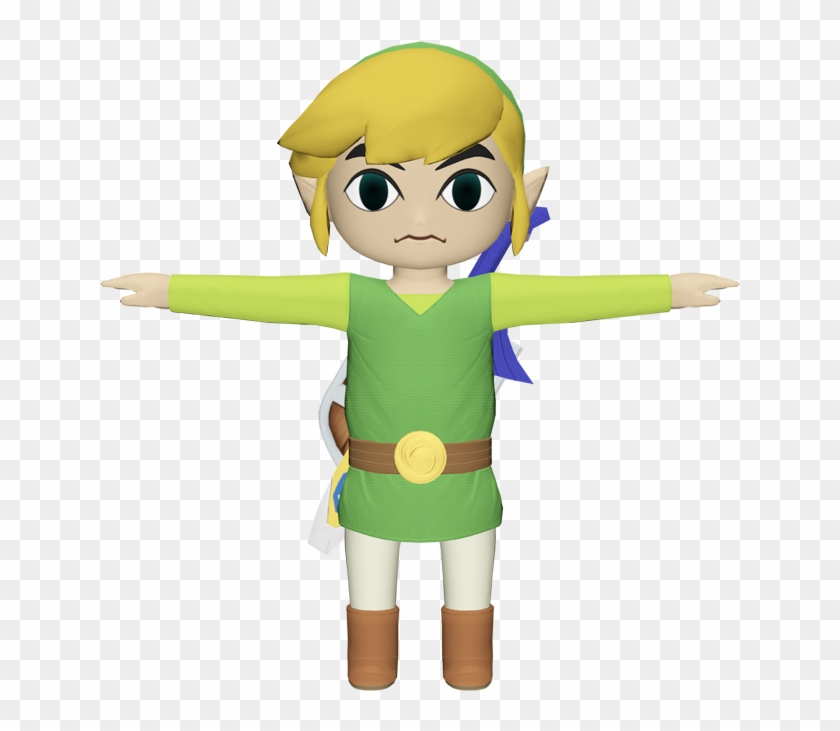 Download Zip Archive Toon Link T Pose Free Transparent Png Clipart Images Download