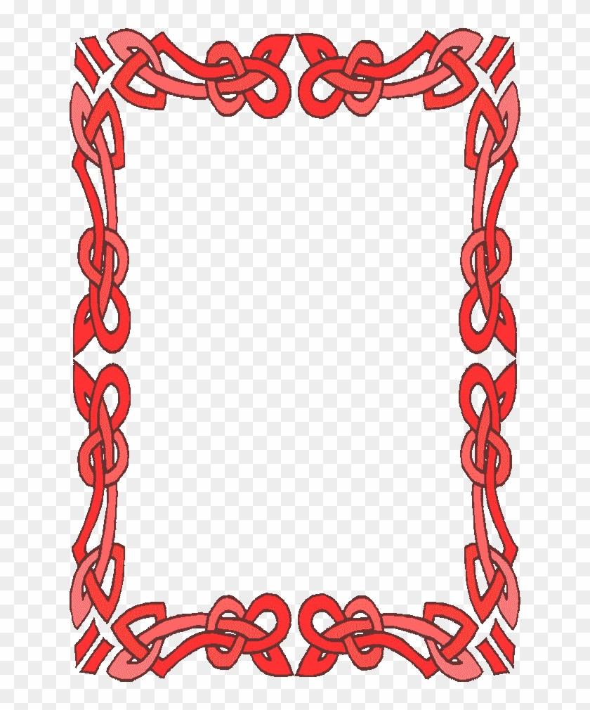 Frames And Borders - Border Design For Valentines #826116