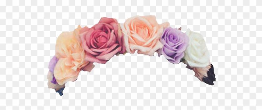 Transpa Flower Crown On We Heart It Dinocro Info - Flower Crown No Background #826602