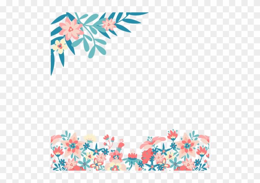 Blue Pink Flowers Background Transparent Png Svg Vector Flores