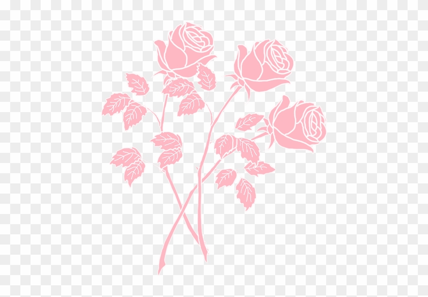 Paper Aesthetics Drawing Drawing Of Roses Tumblr Pink Free