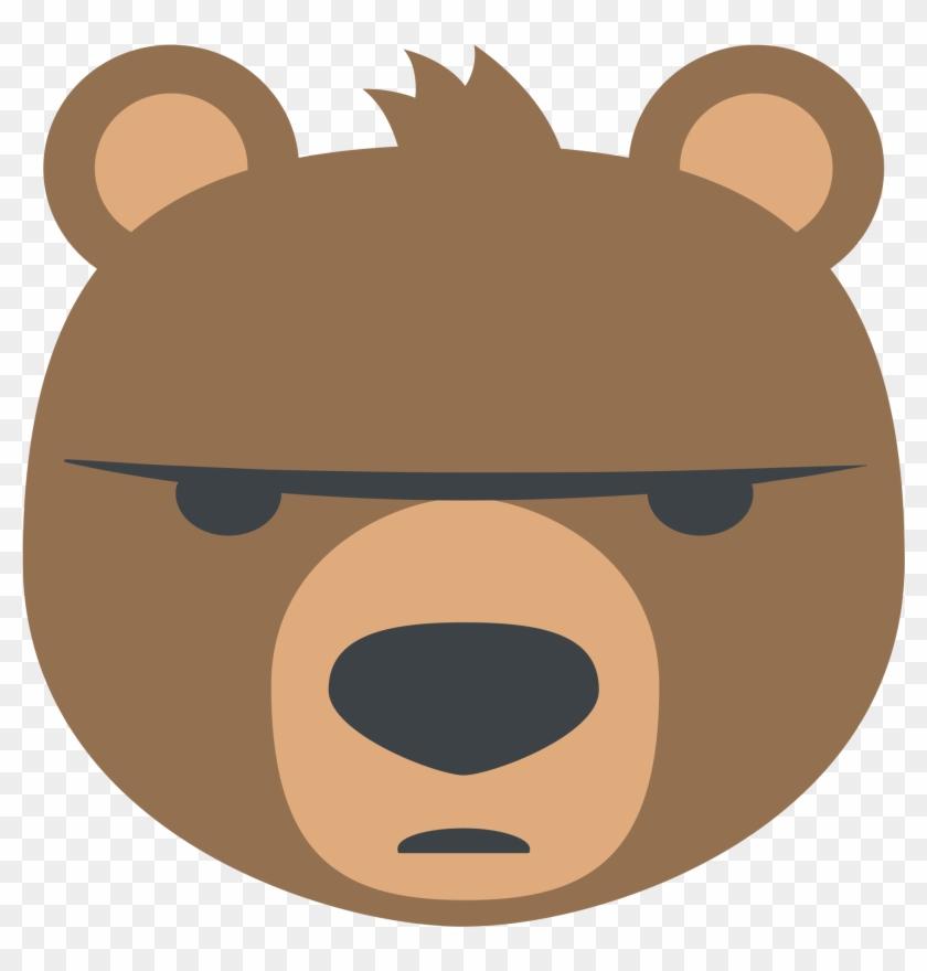 Bear Face Emoji For Facebook, Email Amp Sms Id - Bear Emoji #827191