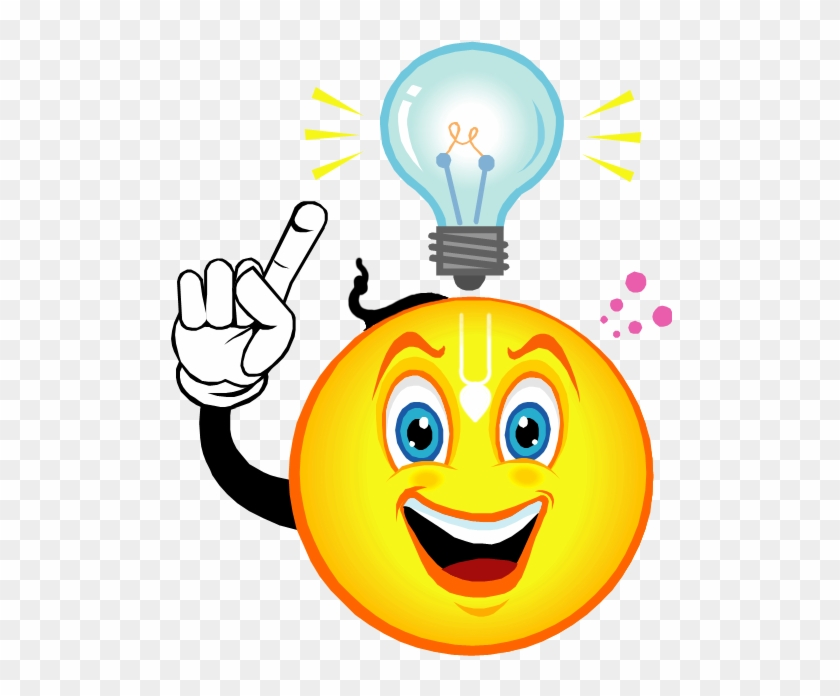 Quiz Clipart - Light Bulb Going Off In Head #827539