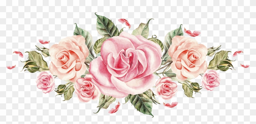 Bouquet of roses material flowers cartoon flowers watercolor bouquet of roses material flowers cartoon flowers watercolor pink roses png mightylinksfo