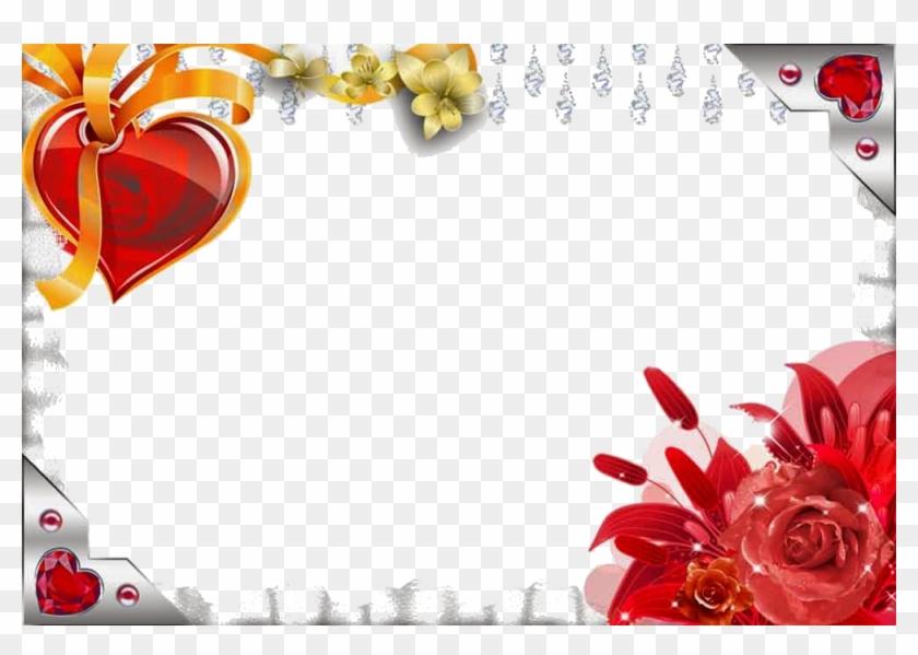 Love Frame Download Png - Love Photo Frames Png #827692