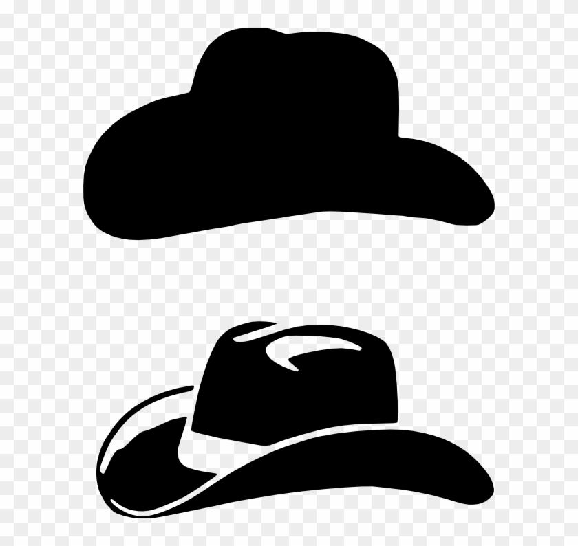 Misc, Personal Use, Cowboyhatpcs, - Cowboy Hat Svg File ...