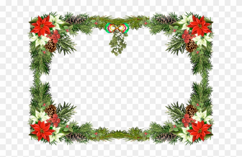 Credit To - Christmas Photo Frame Online - Free Transparent PNG ...