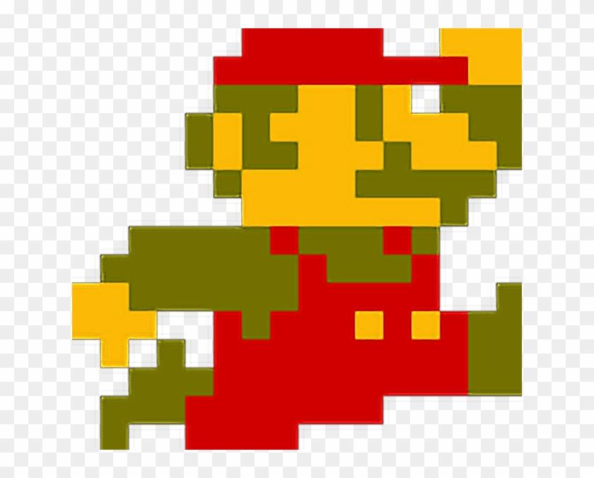 Freetoedit Super Mario Bros Mario Jump 8bit Retrò - Novelty Super Mario Retro Alarm Clock Mario #828719