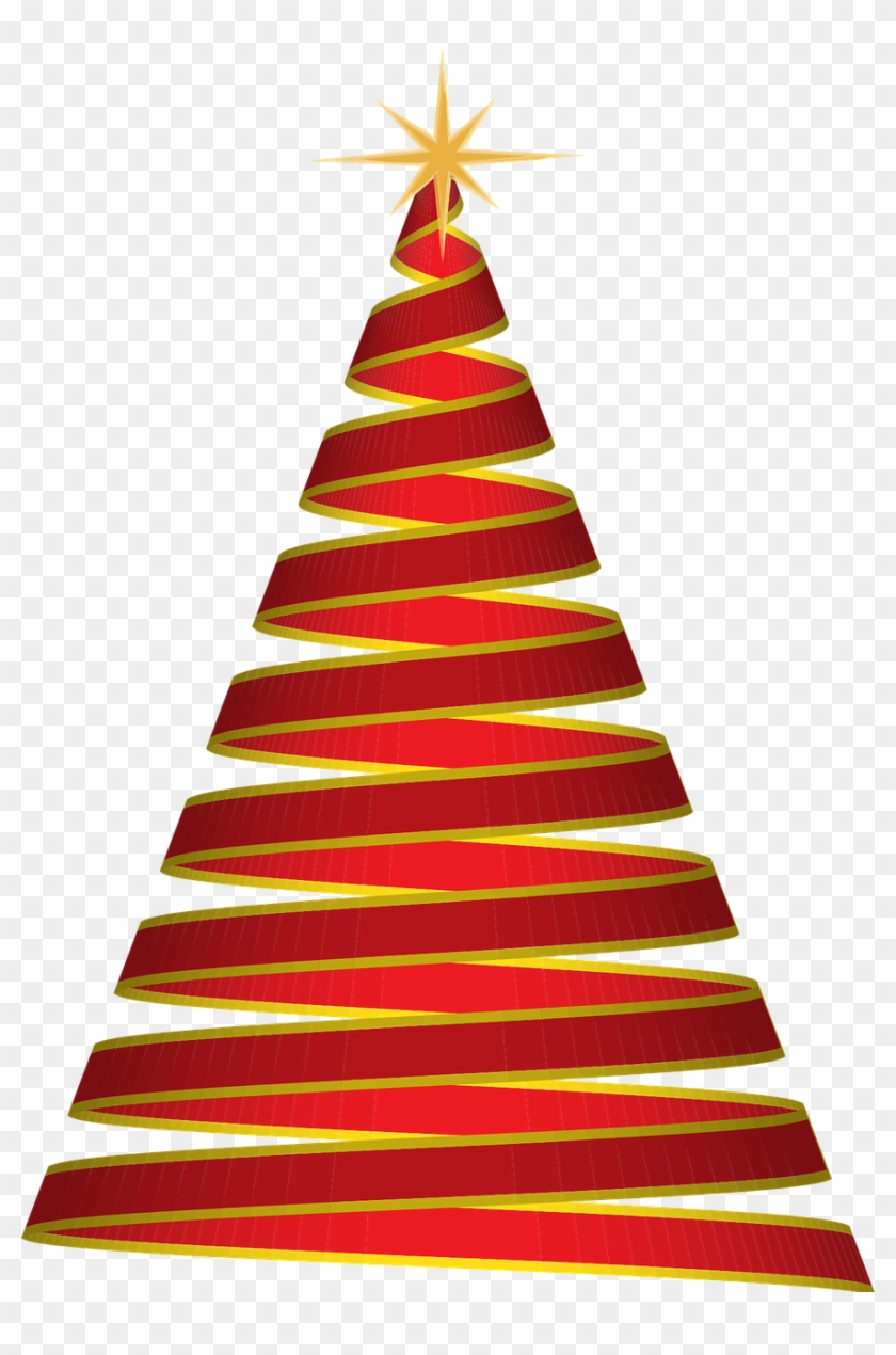 Christmas Tree Ribbon Red Png Image - Want A Christmas That Shouts Jesus Shirt #828969