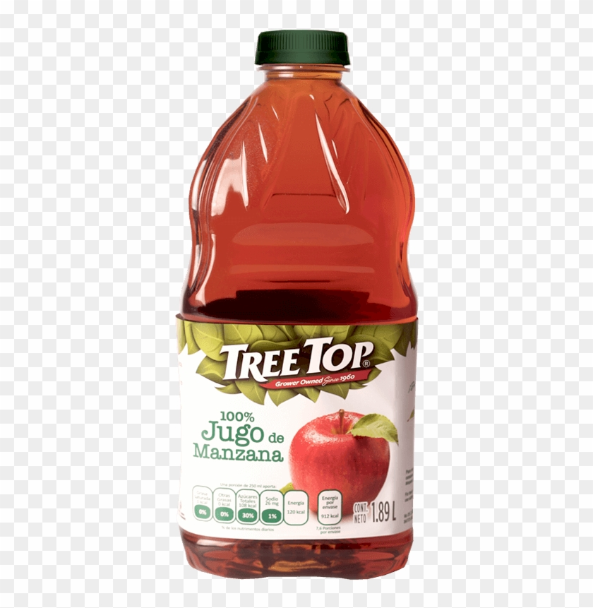Jugos De Frutas - Tree Top Apple Sauce - 4 Count, 12.8 Oz Box #828998