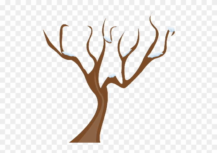 Tree Without Leaves Vector Png #829183