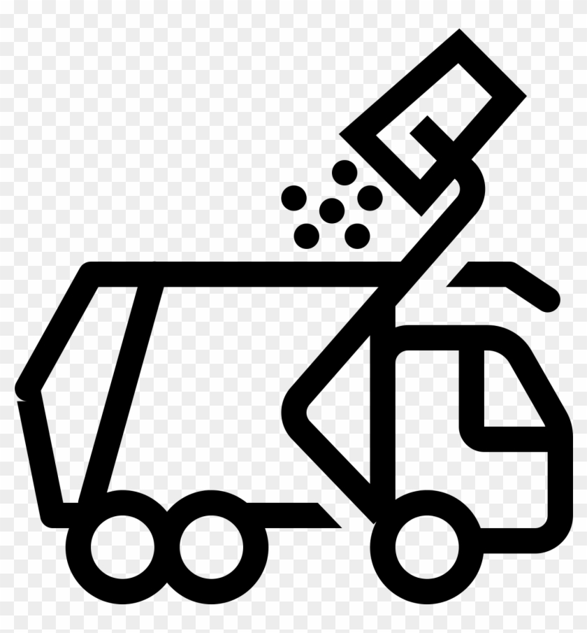 Trash And Recycling - Garbage Truck Icon Png #829482