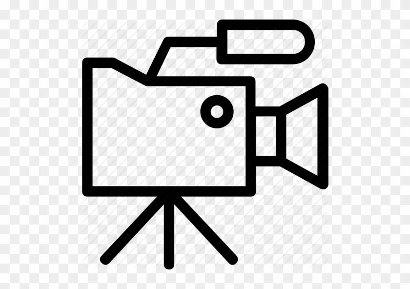 Photographic Film Movie Camera Clip Art - Logo Transparent PNG
