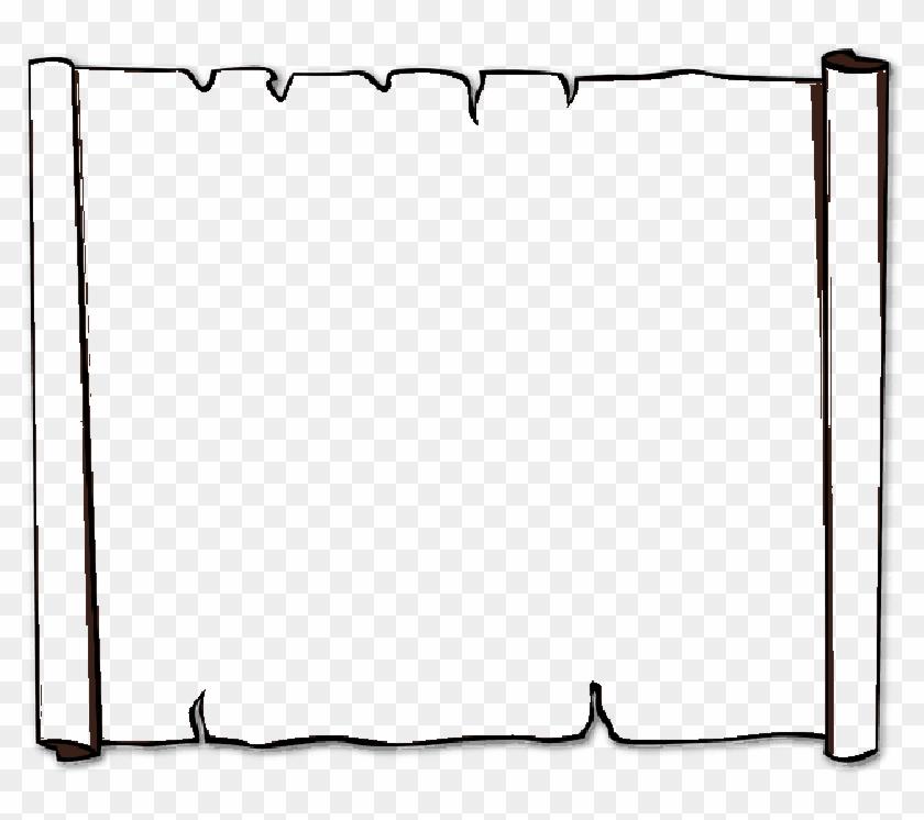 Other Popular Clip Arts - Paper Scroll Clip Art #829884
