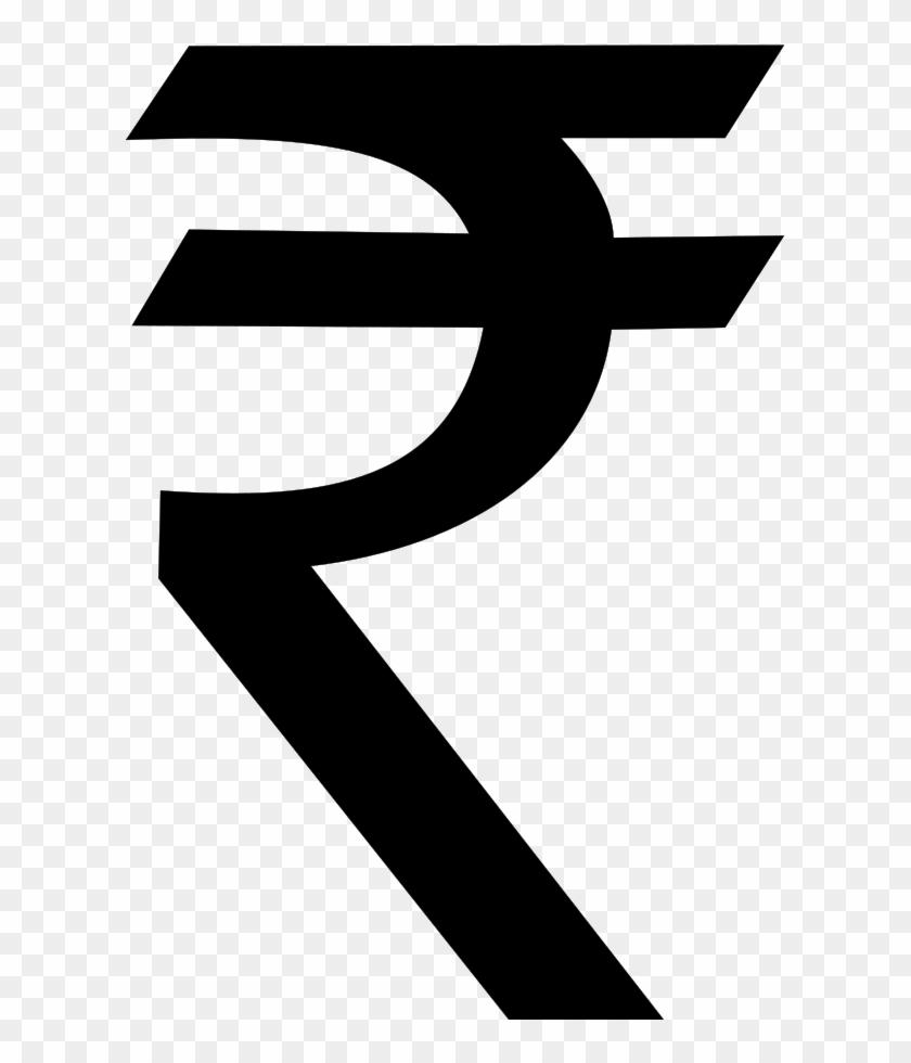 Rupee Symbol Png Clipart - Indian Rupee Symbol #830135