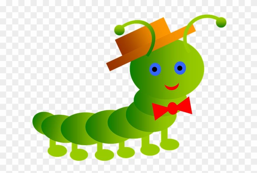 Картинка гусеница с-монстр
