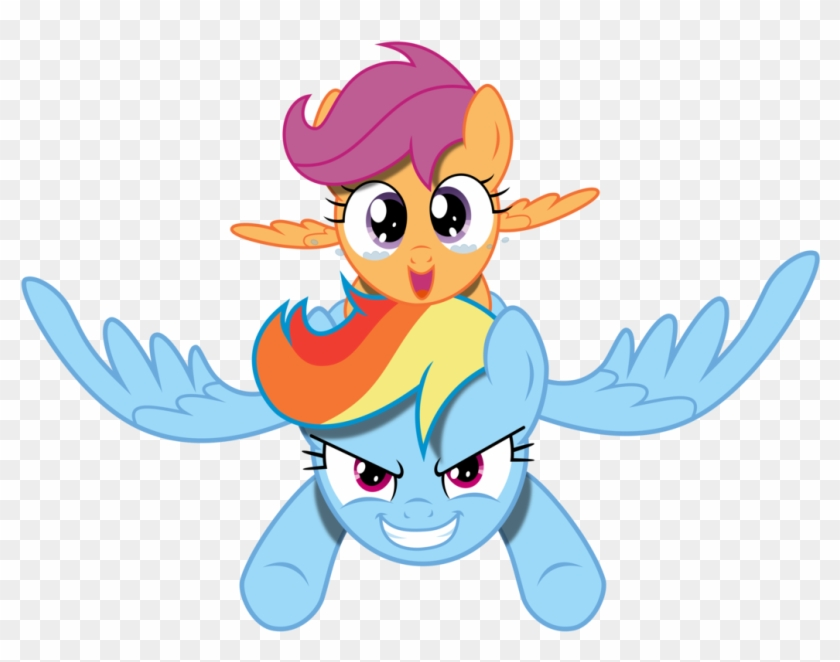 Rainbow Dash And Scootaloo Free Transparent Png Clipart Images Download When irritated, she sometimes flicks her she has her own fan club run by scootaloo. rainbow dash and scootaloo free
