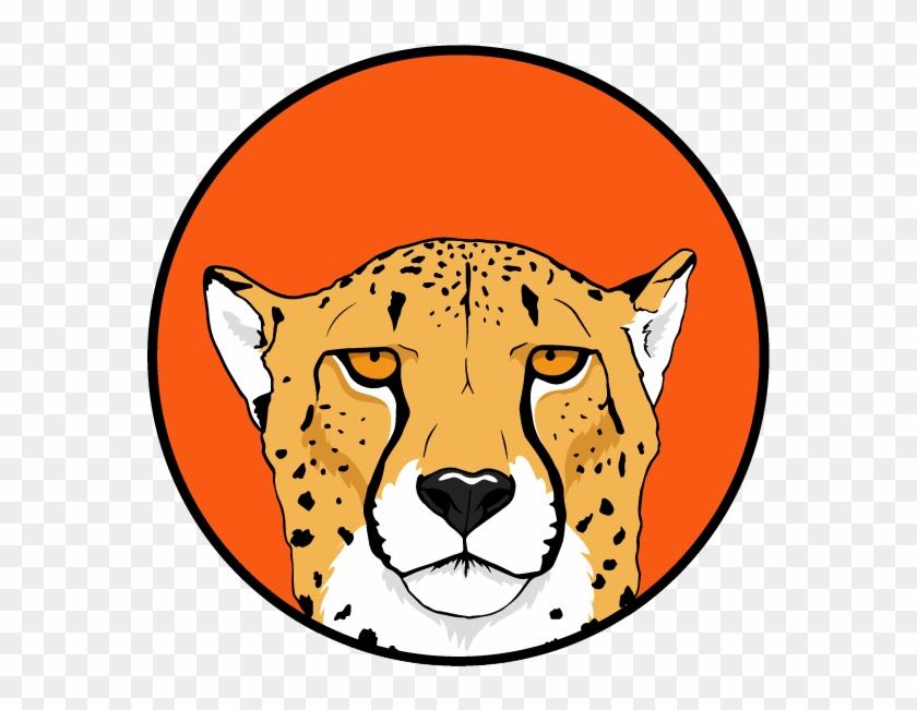 cheetah cheetah head logo free transparent png clipart images download cheetah cheetah head logo free