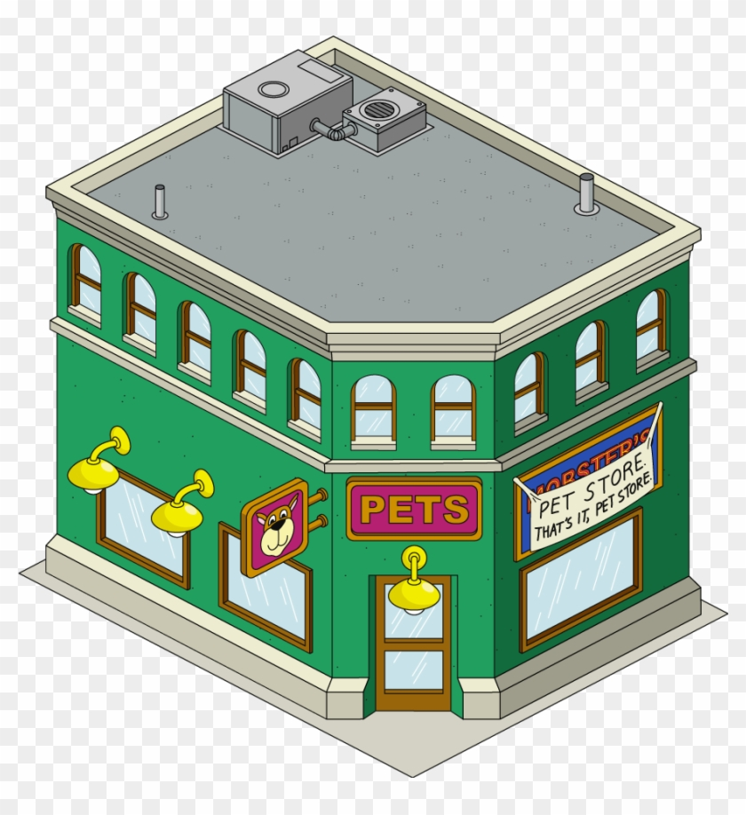 Mobster's Pet Store - Family Guy Pet Store #830314
