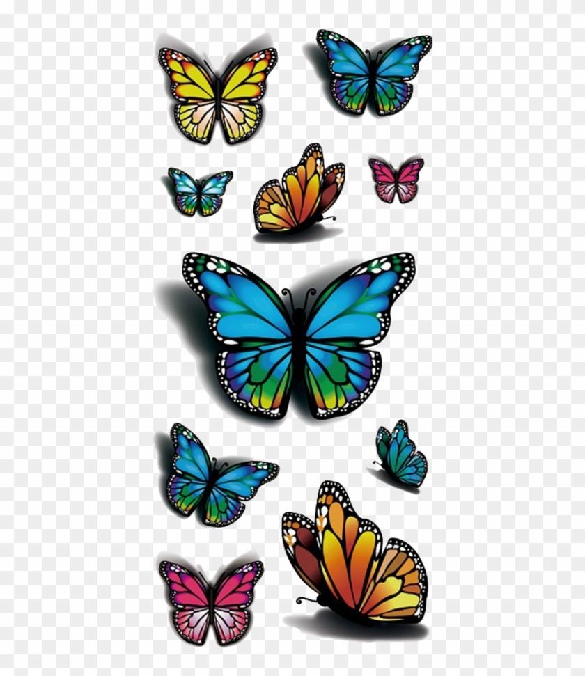 Butterfly Tattoo Design 3d #831006