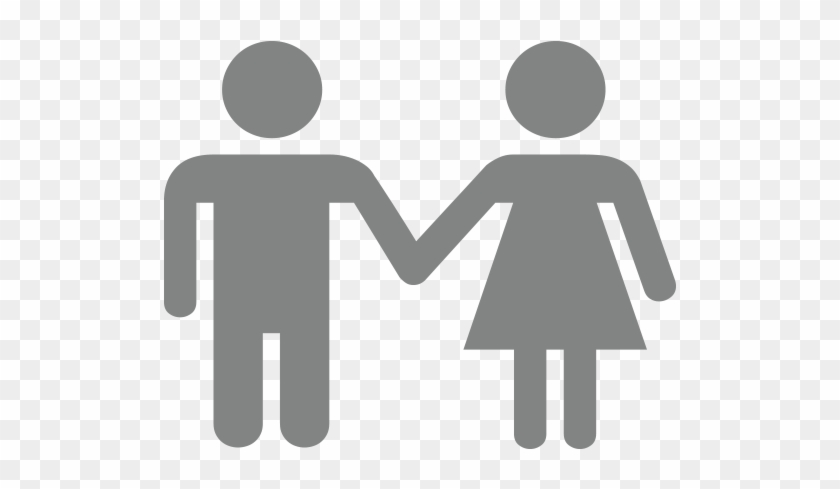 Man And Woman Holding Hands Emoji - Men And Women Chromosomes #831037