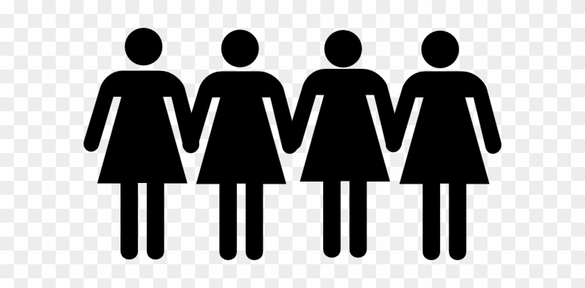 This Free Clip Arts Design Of Men Women Holding Hands - Male Female Bathroom Signs #