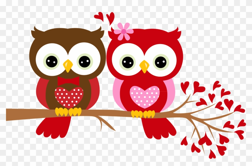Happy Valentines Day Owl Free Transparent Png Clipart Images Download