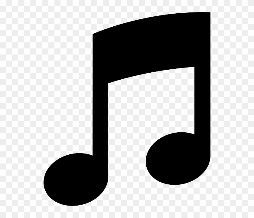 Pictogram Note Music Symbol Eighth Black Sound Music Note