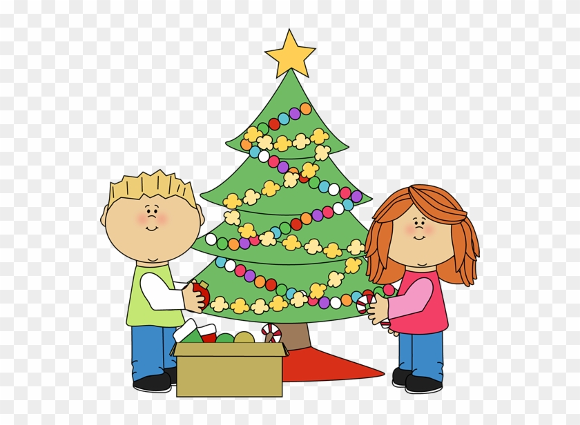 Free Clipart Preschool Christmas Tree - Decorate Christmas Tree Clipart  #831194 - Free Clipart Preschool Christmas Tree - Decorate Christmas Tree