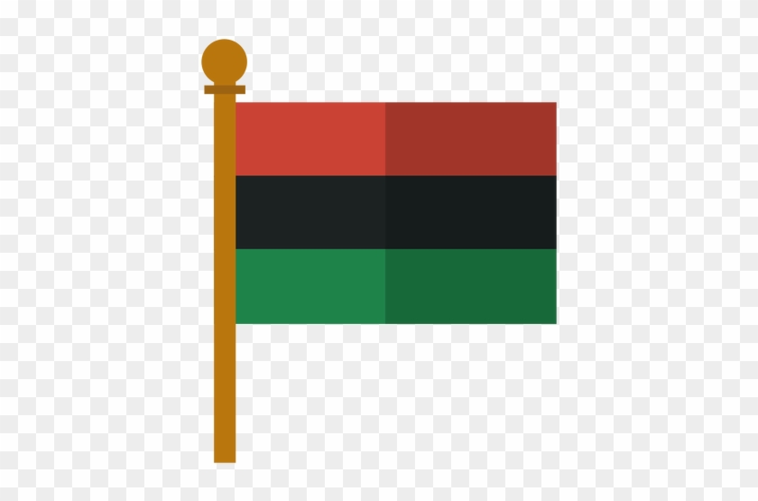 Kwanzaa Pan African Flag Icon Transparent Png - Pan Africanism Transparent #831590