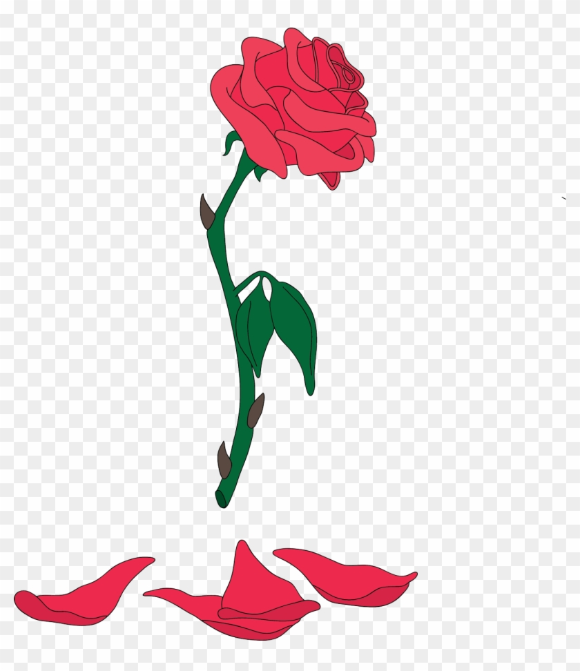 Rose Png Beauty And The Beast #832291