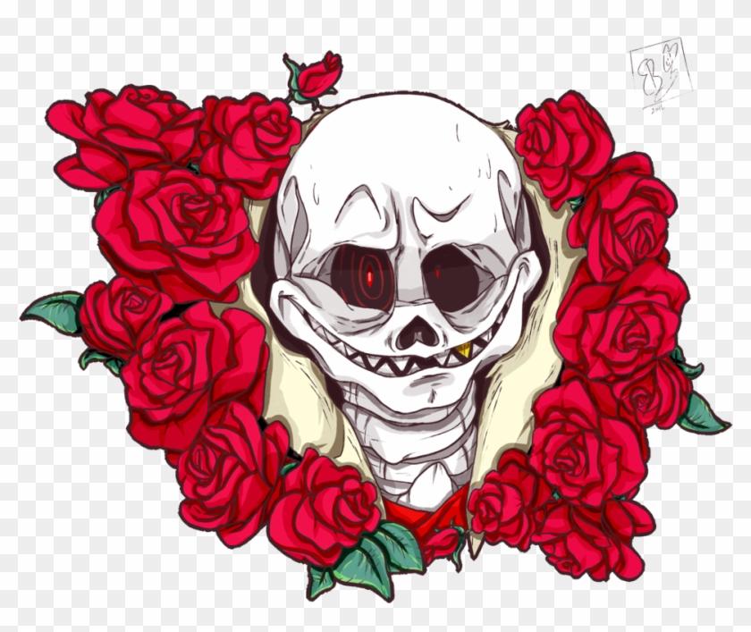 Underfell Sans And Roses By Jokergirl101 Underfell - Digital