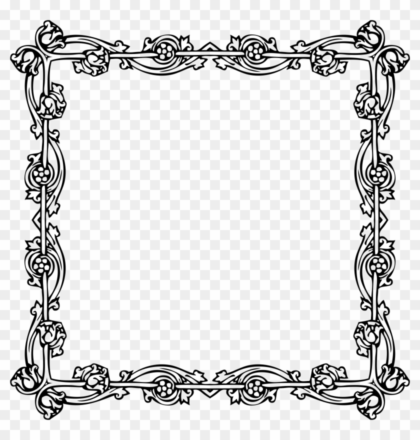 Awesome Victorian Picture Frame Within Clipart Style - Victorian ...