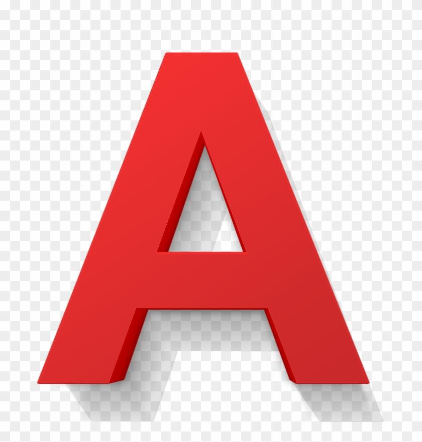 3d Buchstaben Lackiert 3d A Letter Png Free Transparent Png