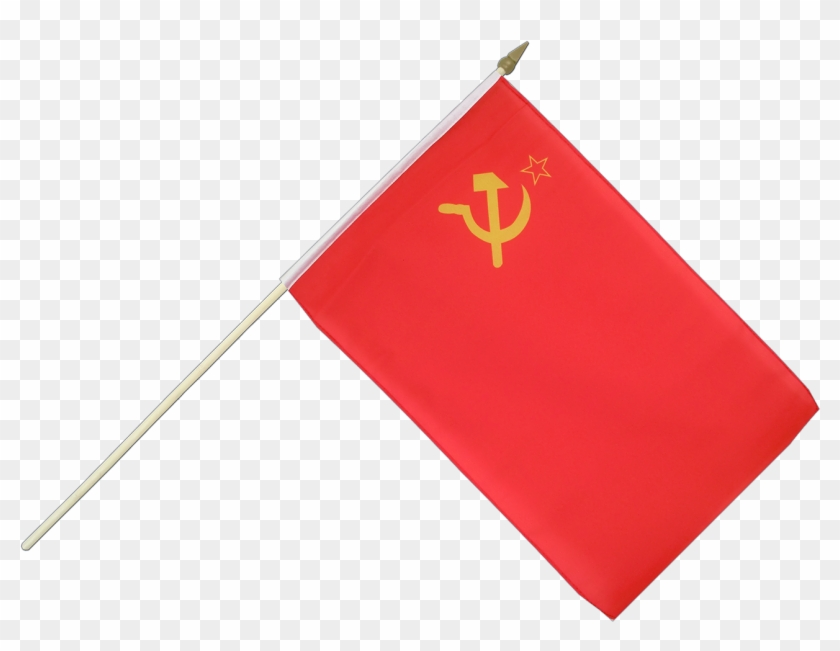 Ussr Soviet Union Chinese Flag On Pole Free Transparent Png Clipart Images Download