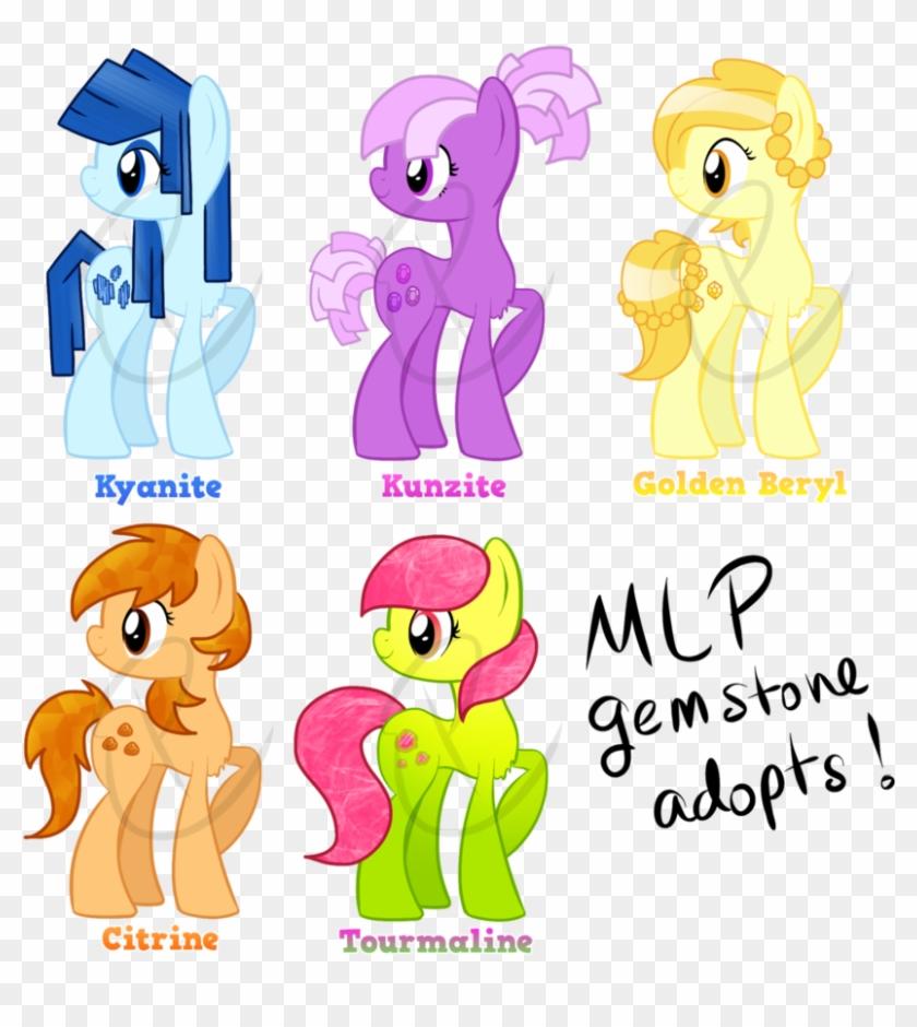 Mlp Gemstone Adopts - My Little Pony Gemstones - Free